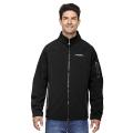 MEN'S THREE-LAYER FLEECE BONDED SOFT SHELL TECHNICAL JACKET PLYGEM